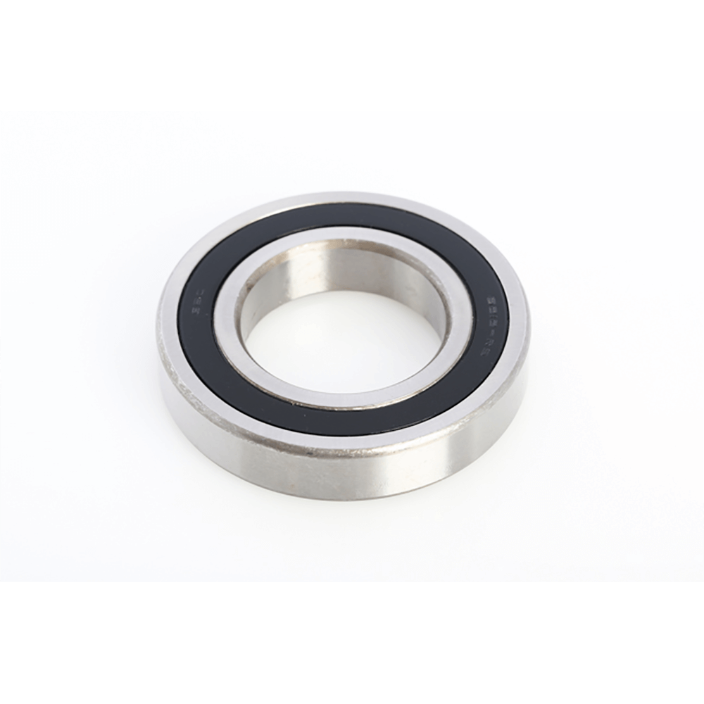 Deep Groove ball bearing, silver with black ring