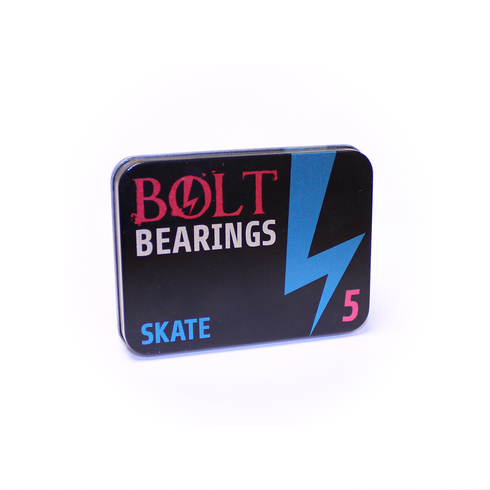 SKATE 608 ZZ BEARINGS BOLT IN BLUE