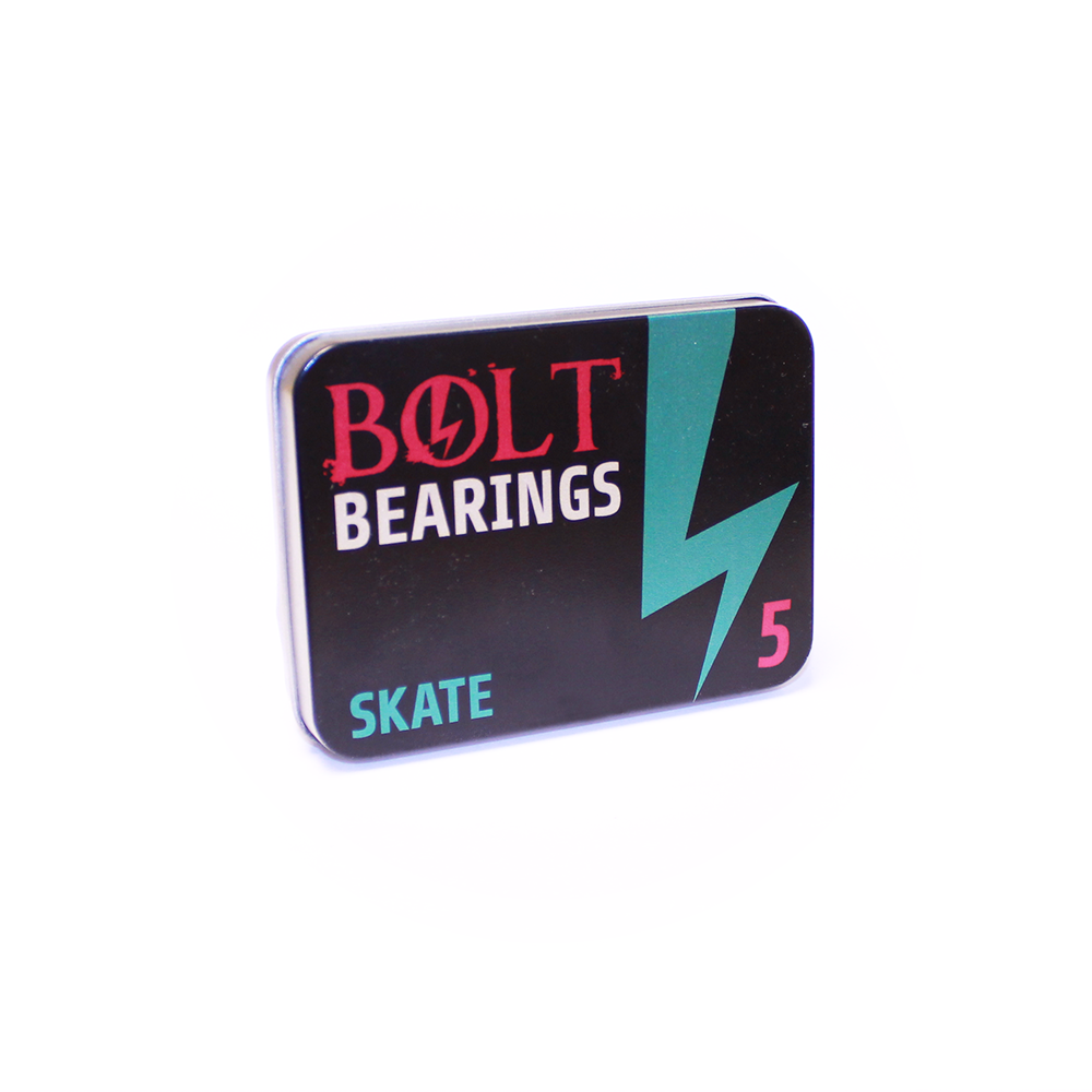 SKATE 608-ZZ BEARINGS BOLT GREEN